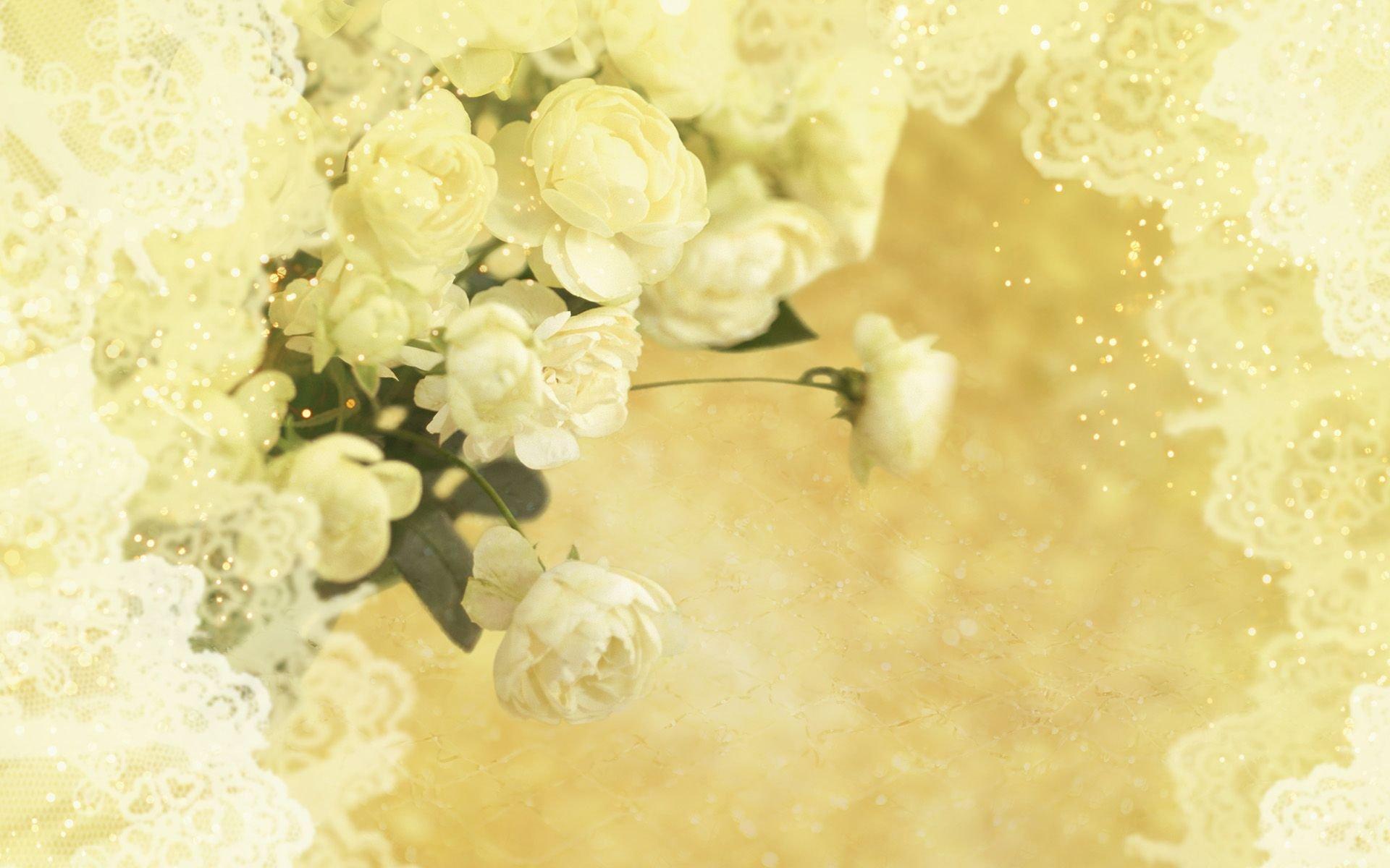Нежный фон для свадебной открытки