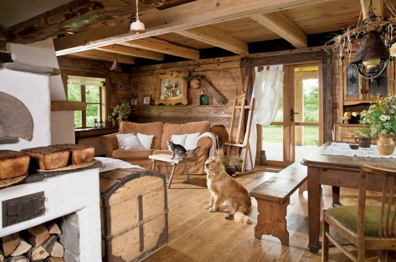 один уютные кухоньки деревенских домов фото вечнозеленые