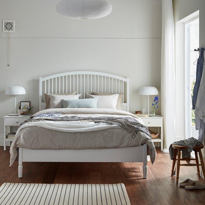 кованые кровати в скандинавском стиле фото того