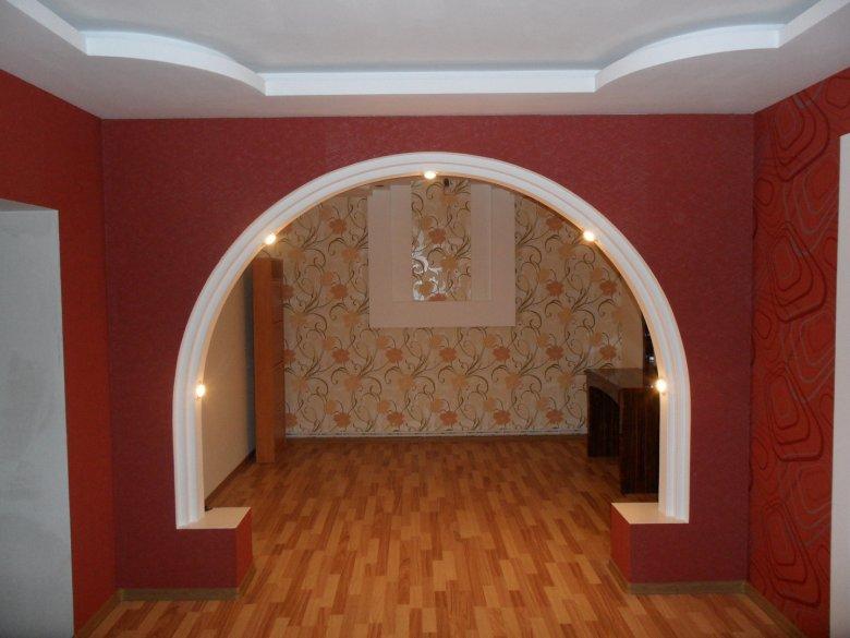 этого арки из гипсокартона уфа фото земле
