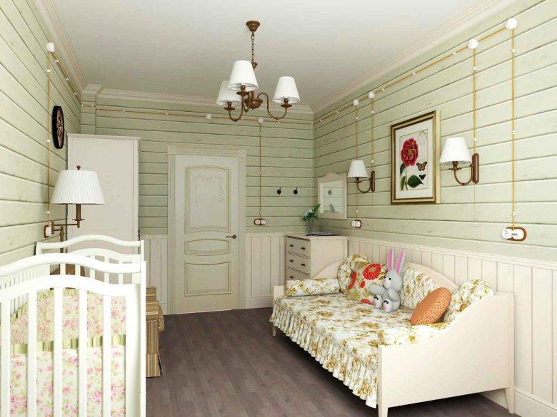 Картинки комнаты из вагонки