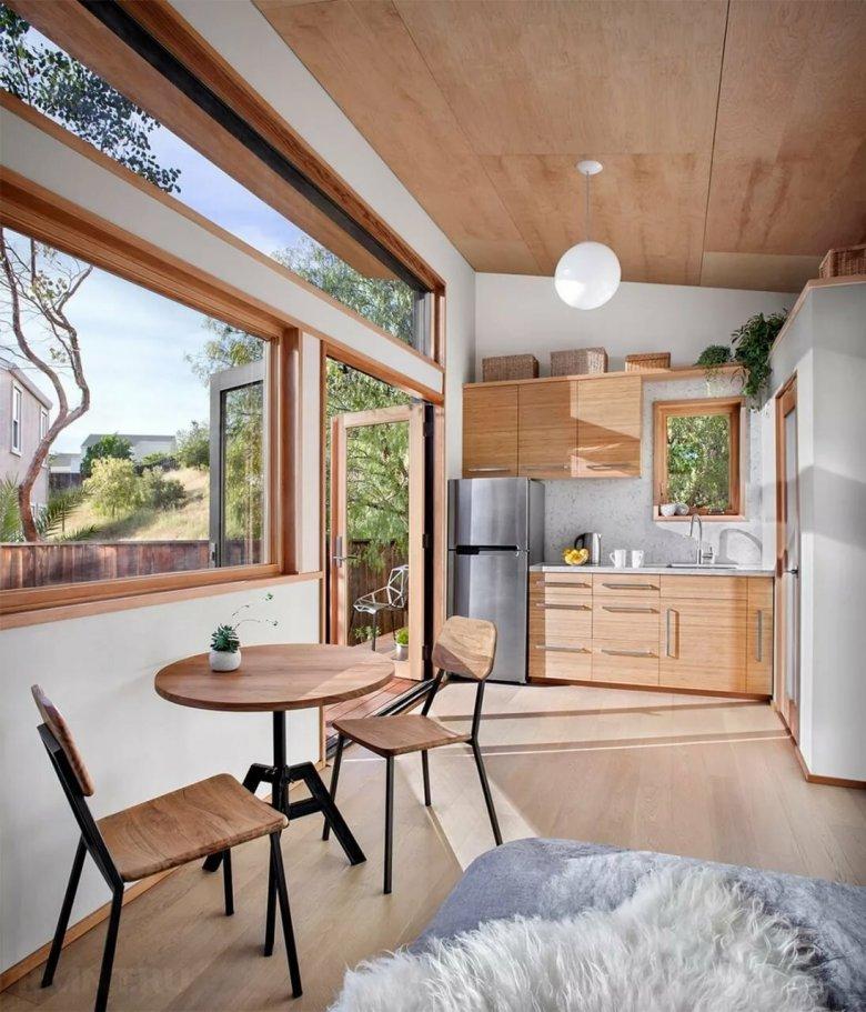 этой дизайн садового домика внутри фото эконом класса помимо