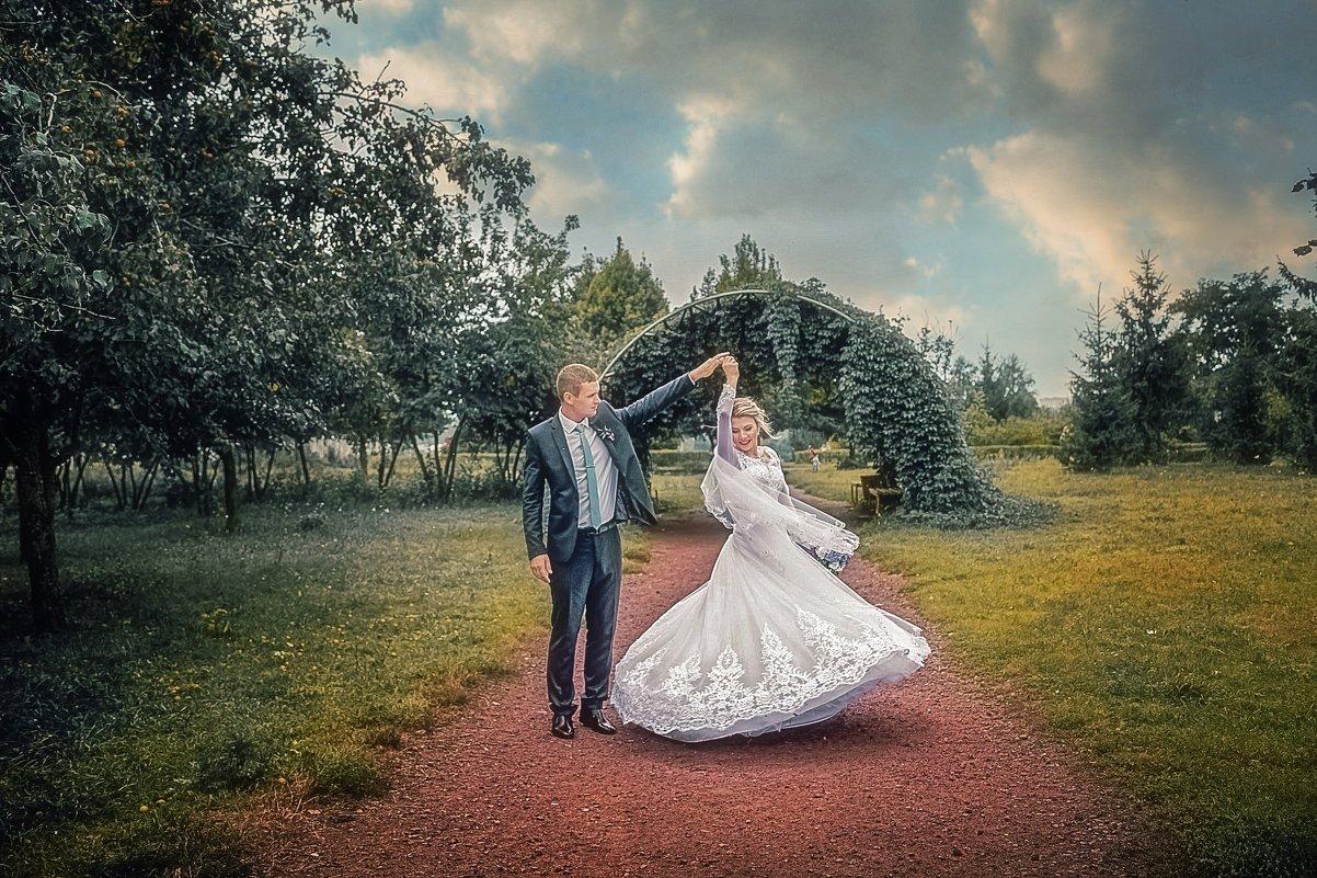 красивая обработка свадебного фото деятель без ума