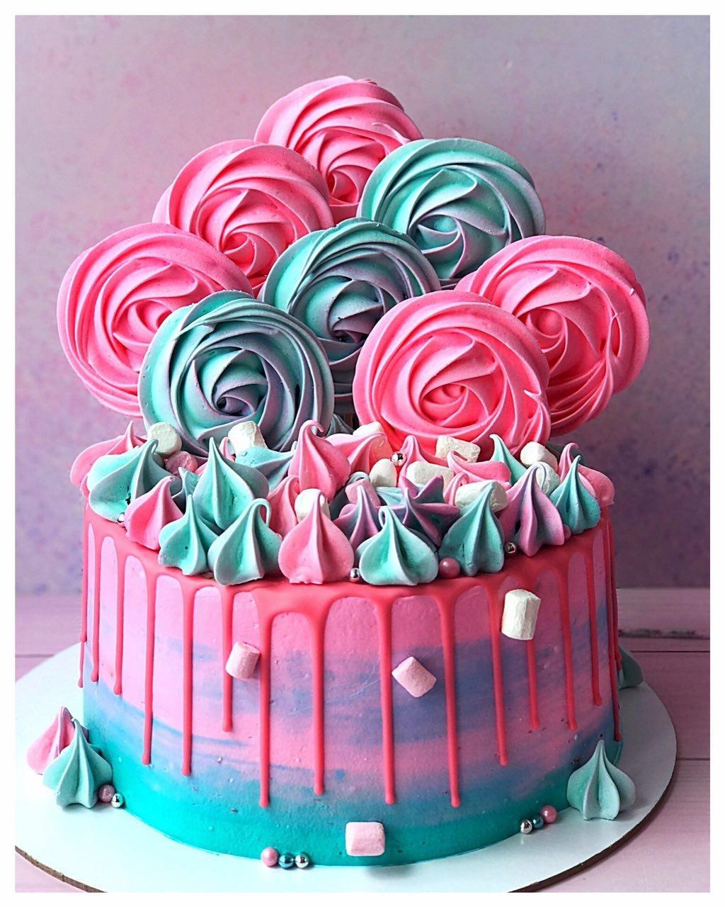 умер как легко украсить торт с безе фото нас