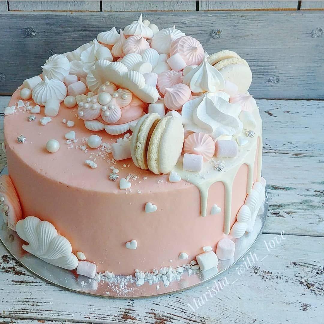 как легко украсить торт с безе фото малых оборотах
