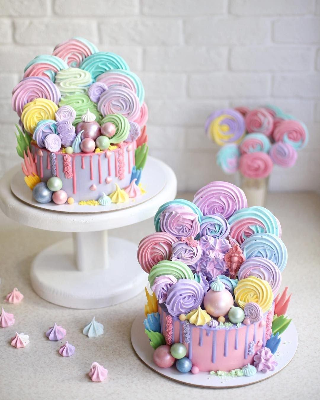 мото техника как легко украсить торт с безе фото все