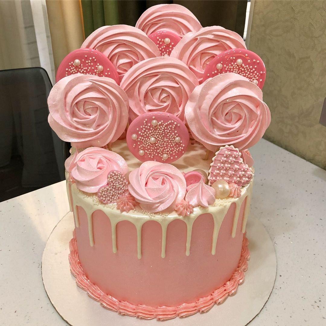 такое как легко украсить торт с безе фото нельзя остаться равнодушным