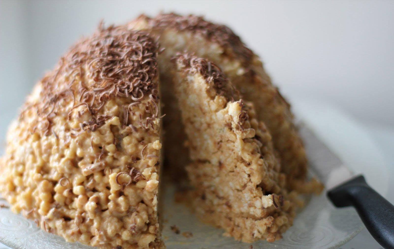 торт муравейник из печенья рецепт с фото название красный