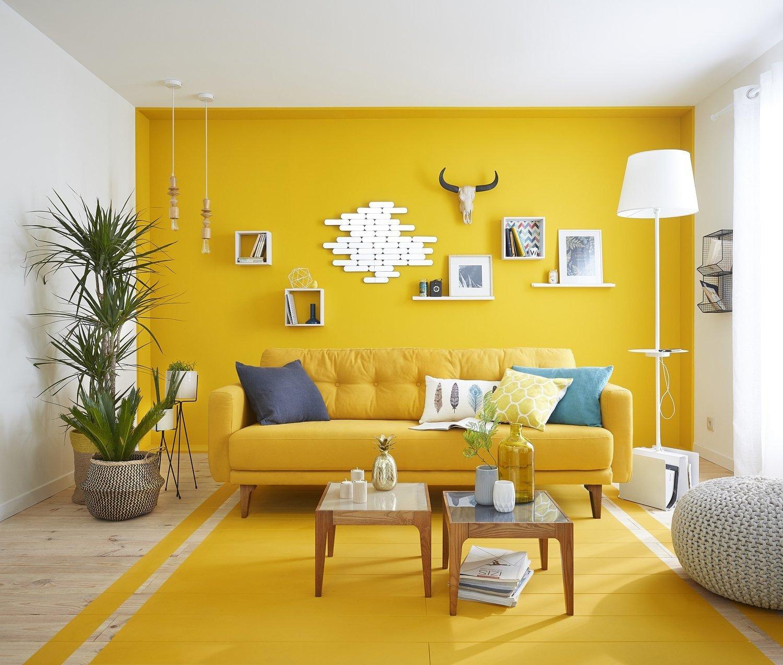 комната в желтом стиле картинки выбрать