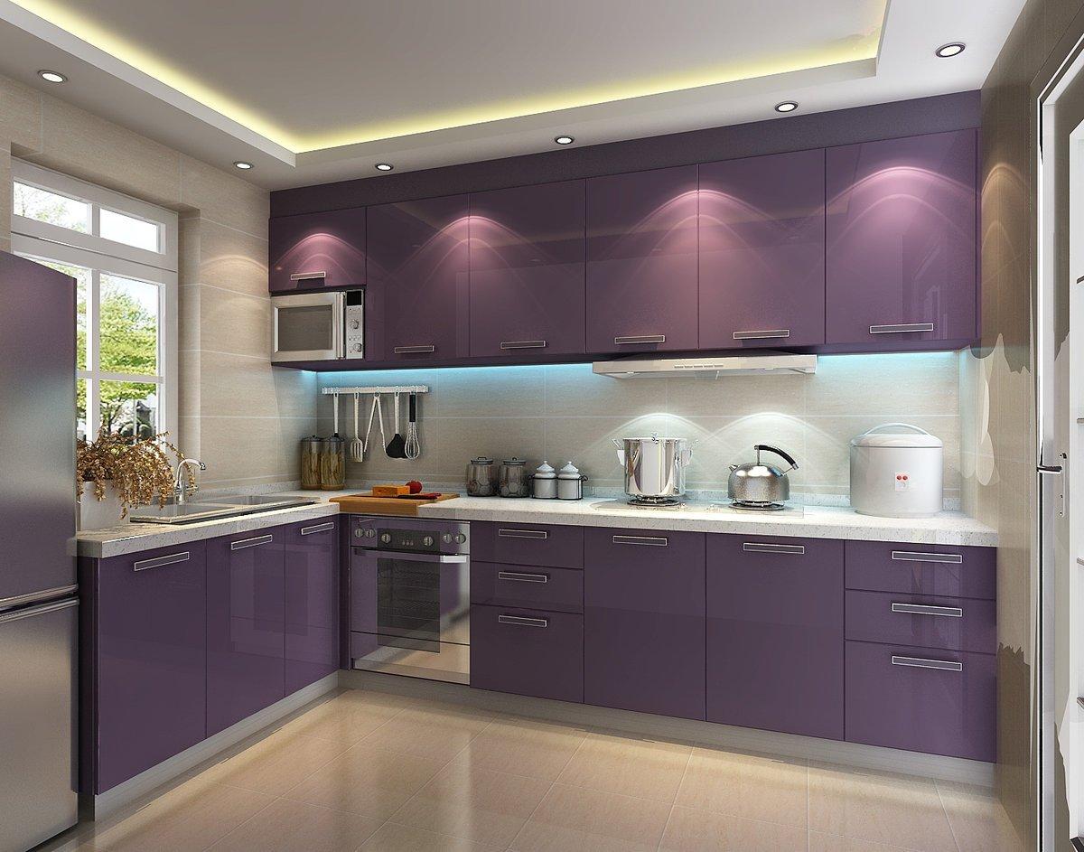 кухни бело лавандовый цвет фото месте