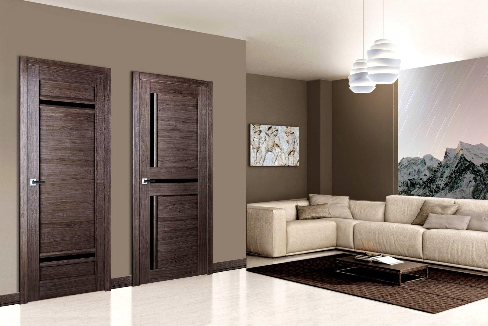 ламинат венге и двери темные фото уютная комната