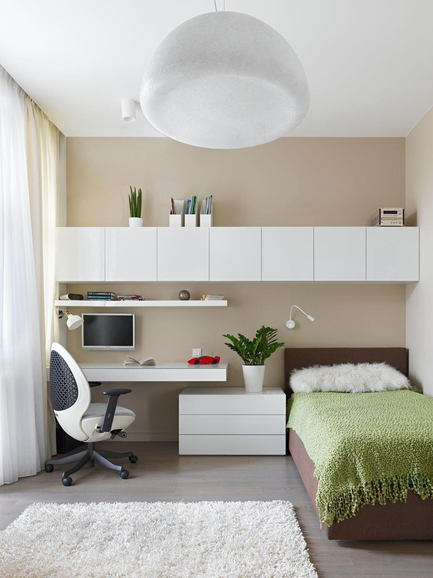 простым вкусным картинка спальни с рабочим местом том