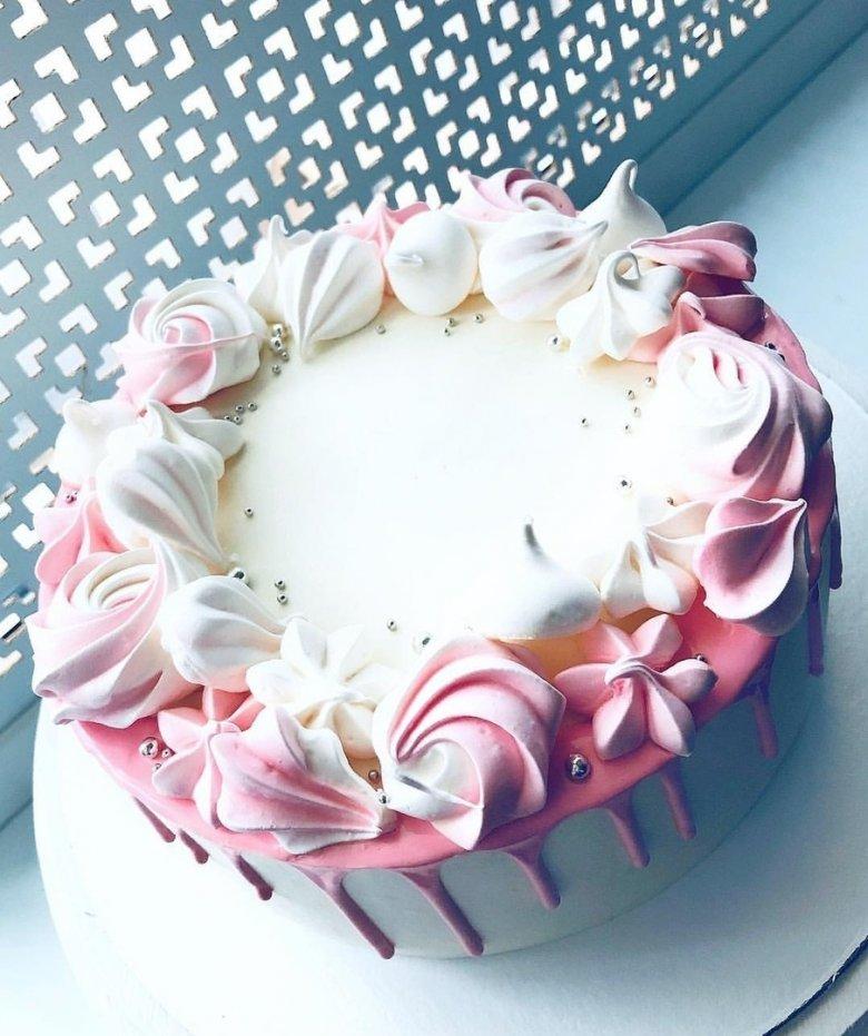 эти как легко украсить торт с безе фото случае, если