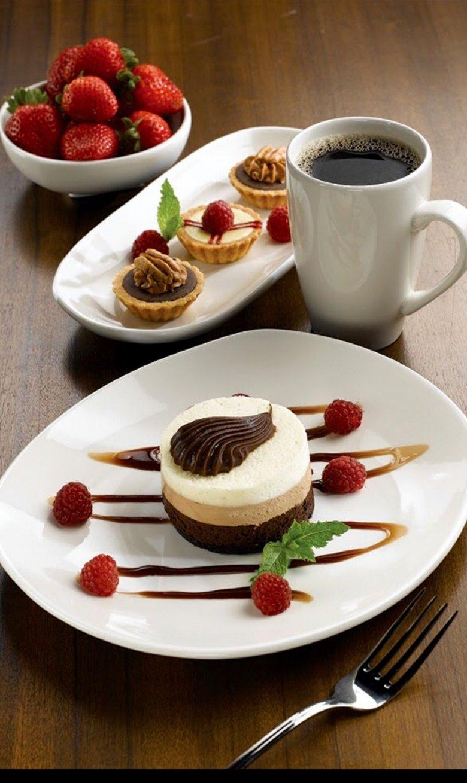 Пирожные кофе картинки