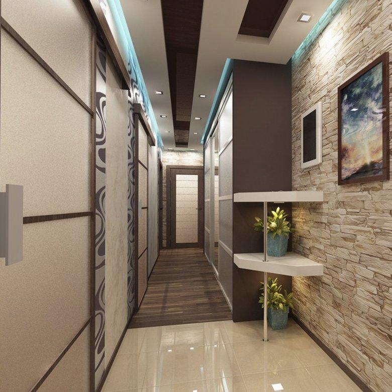 Покраска коридора в квартире фото специально