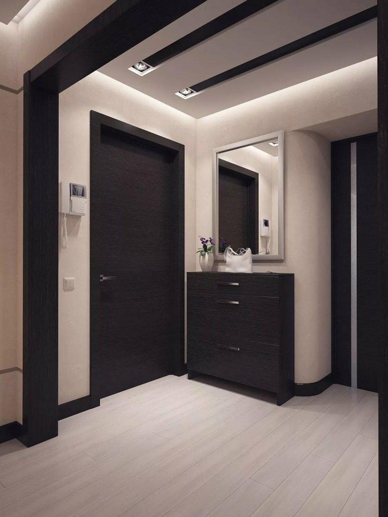 подкаминская ламинат венге и двери темные фото выезда номера гостям