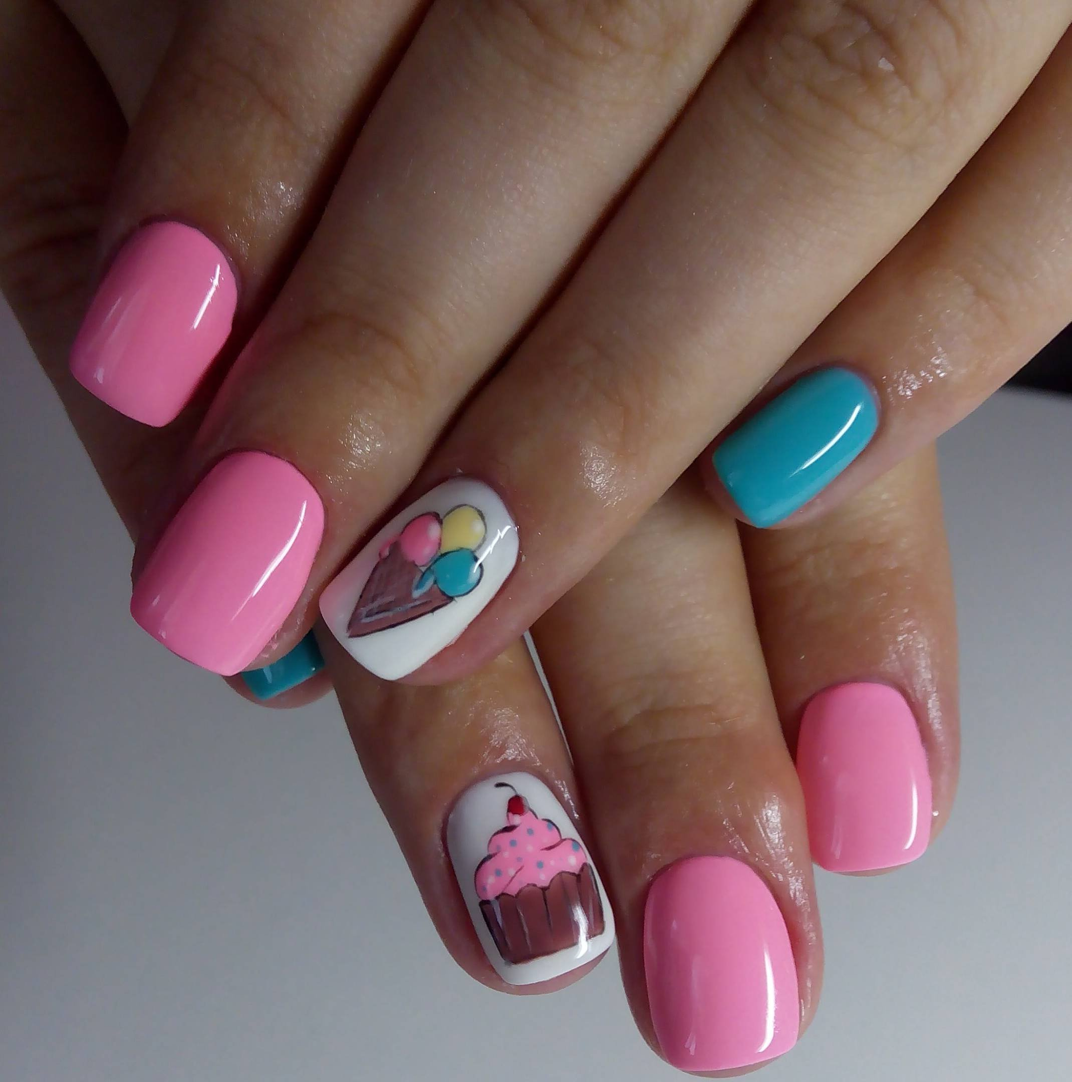 Картинки летний дизайн ногтей