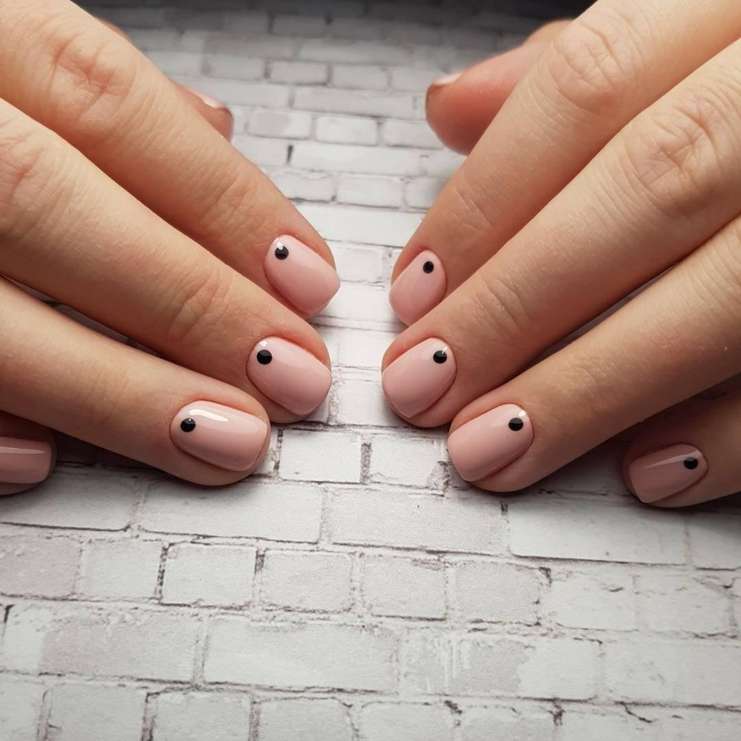 Маникюр на короткие квадратные ногти 2020: 100 фото модных н