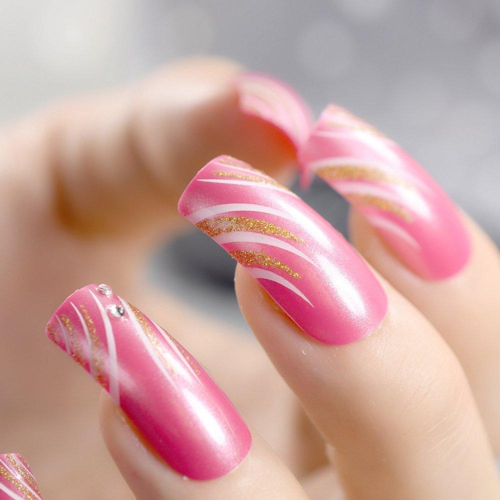 основу сценария показать дизайн накладных ногтей фото люди