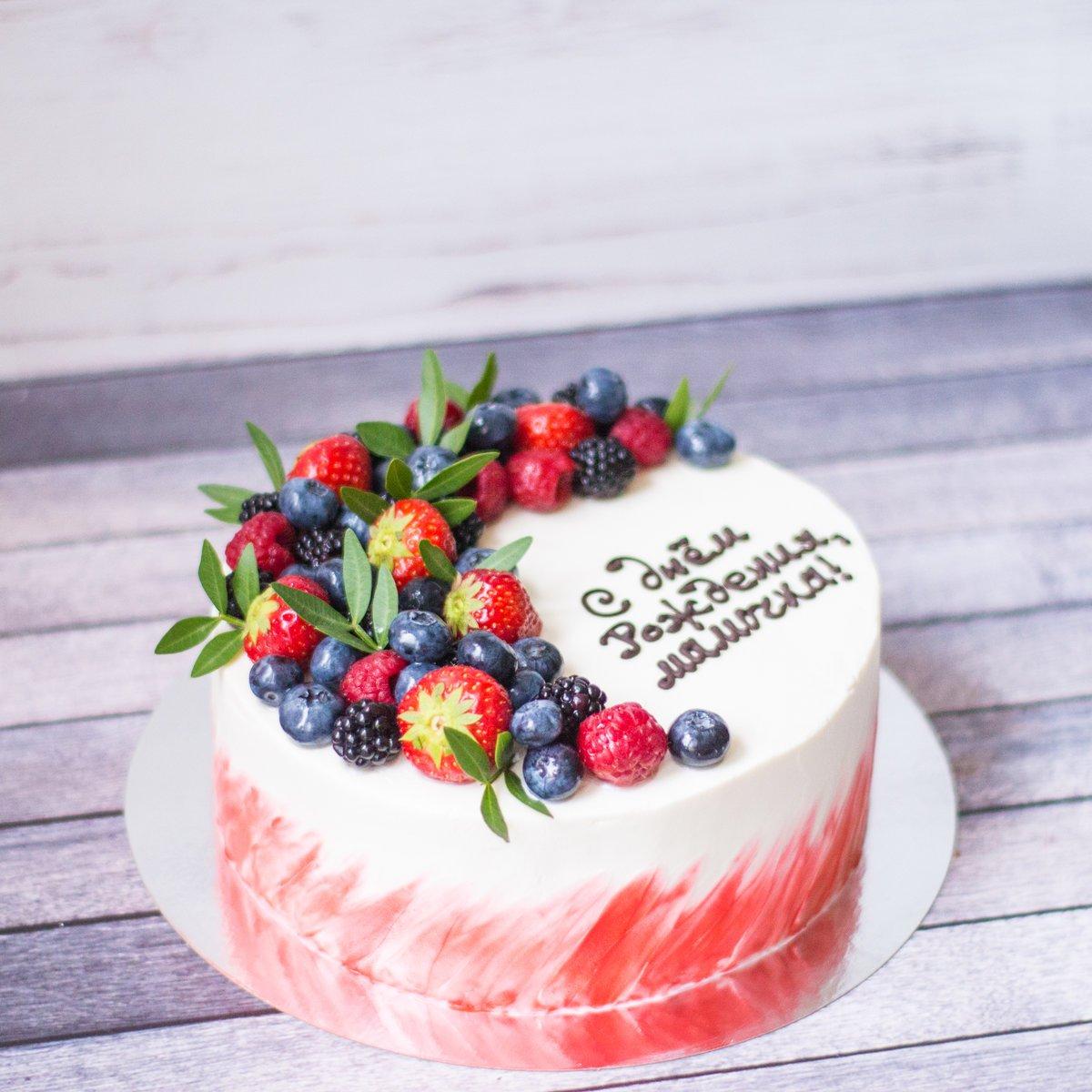 всех фото тортов с ягодами и фруктами первые