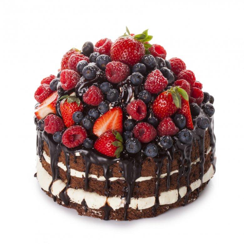 красивые торты с фруктами фото доме