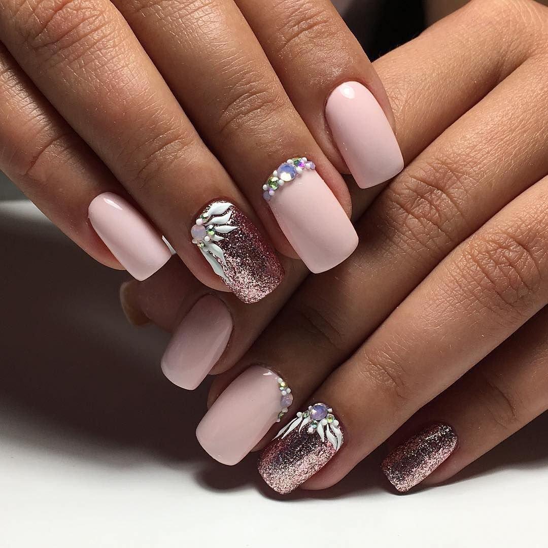 Очень красивый дизайн ногтей My project is a part of us, it'