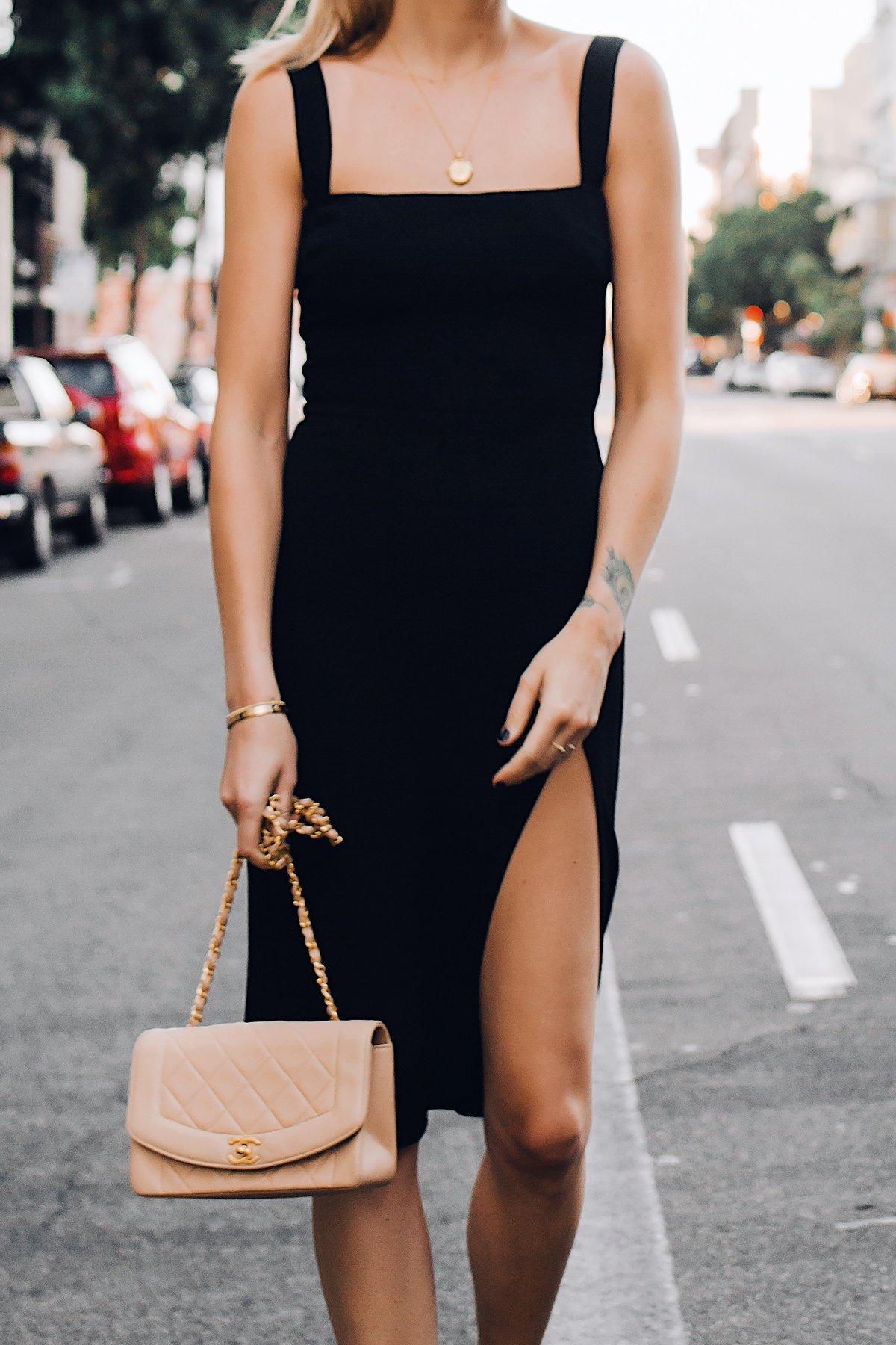 Черное Платье С Сумкой
