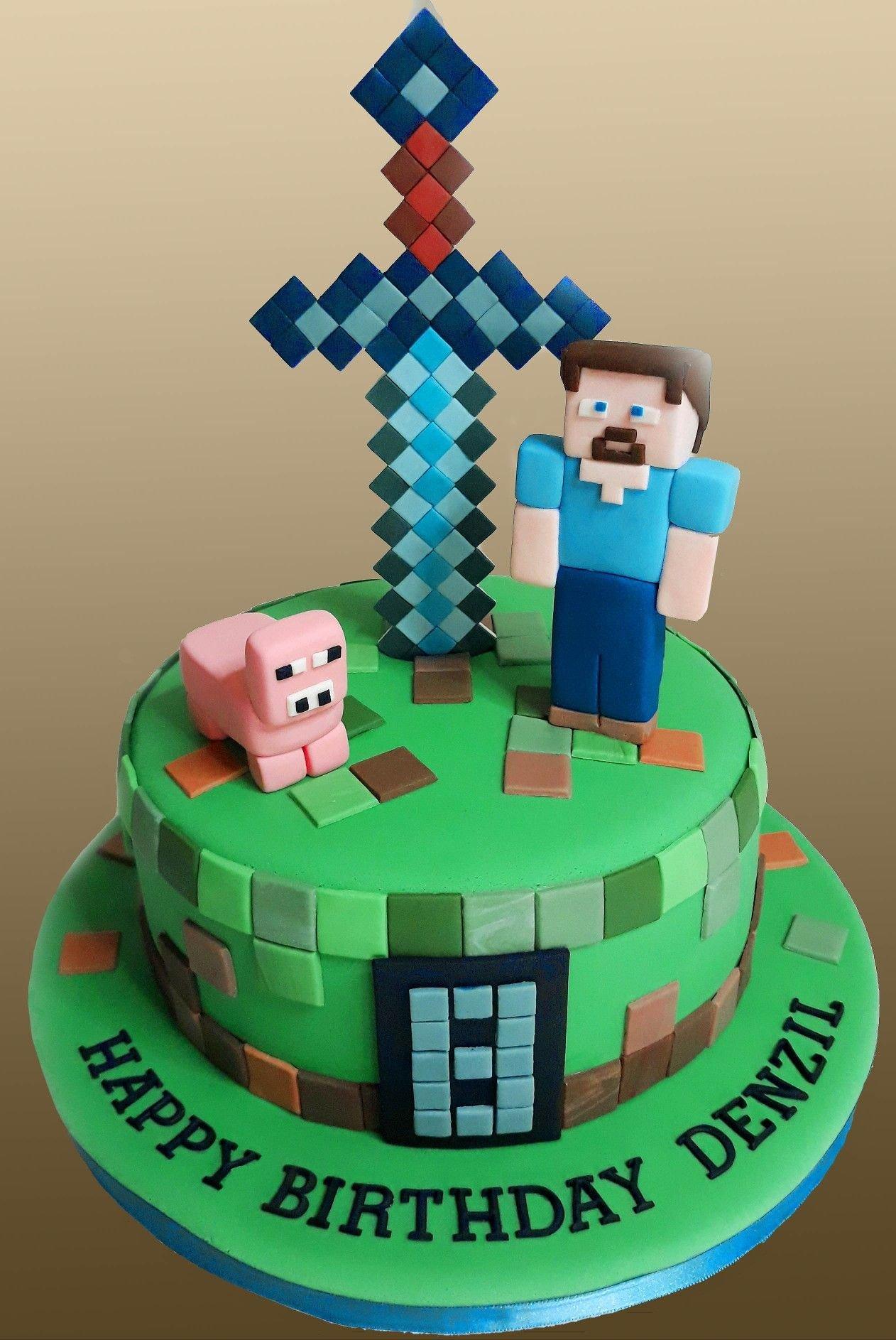 торт в майнкрафт #1