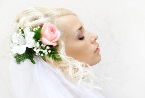 Весільні зачіски фото