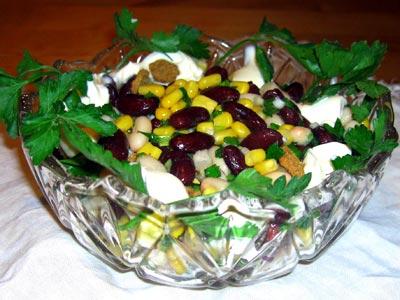 салат из говяжьего сердца рецепт с фасолью и