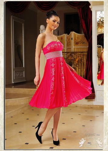 Короткие платья (мини платья) коллекции вечерних платьев 2012.