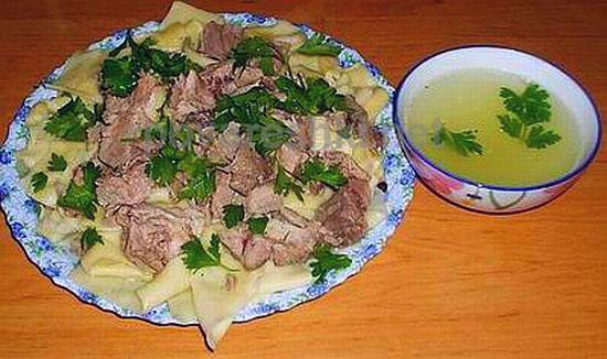 Казахские блюда с рецептами и фото