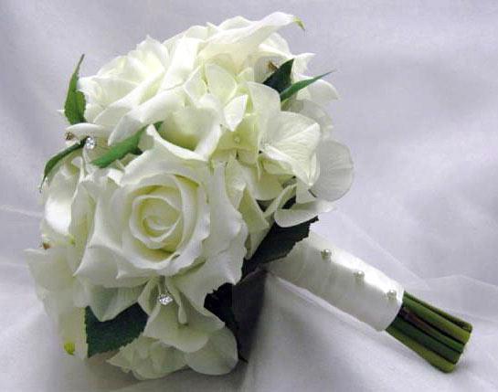 Использовать для свадебного букета