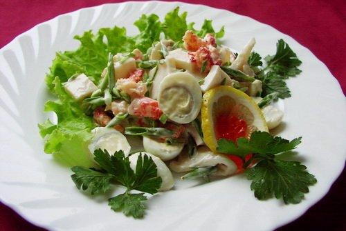 Салат из фасоли. Рецепты приготовления салатов с красной ...