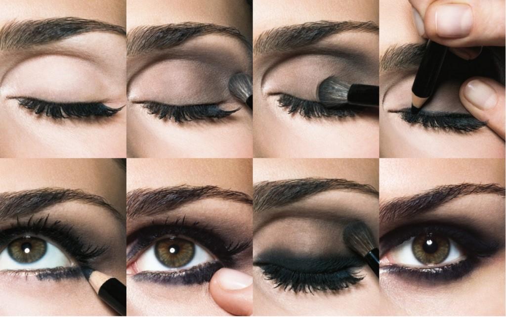 Как накрасить глаза в домашних условиях пошагово 46