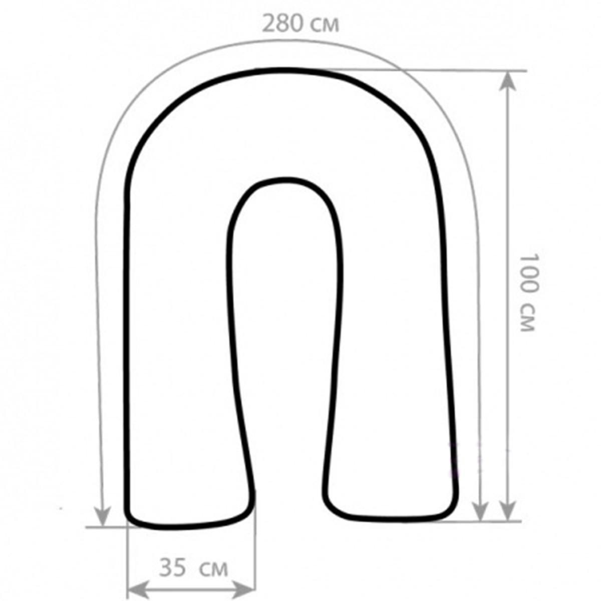 U-подушка своими руками