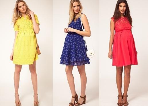 Платья для беременных - лучшие современные модели и фасоны 0c7ba8783a1