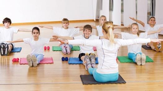 детский фитнес картинки фото