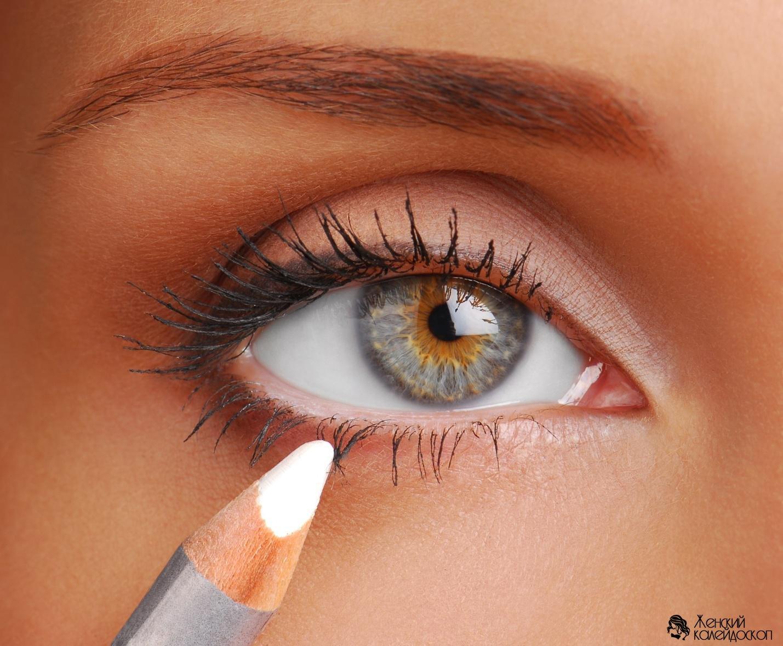 Карандаши для глаз фото макияжа