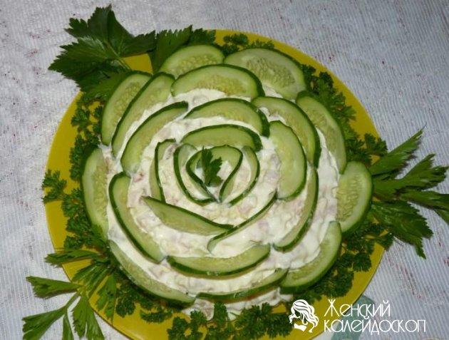 салат в августе на день рождения
