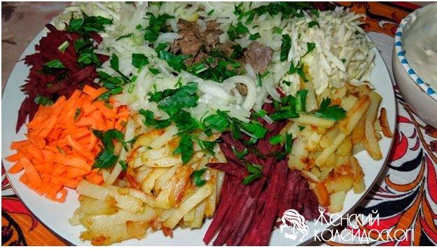 Салат королевский рецепт с фото пошагово
