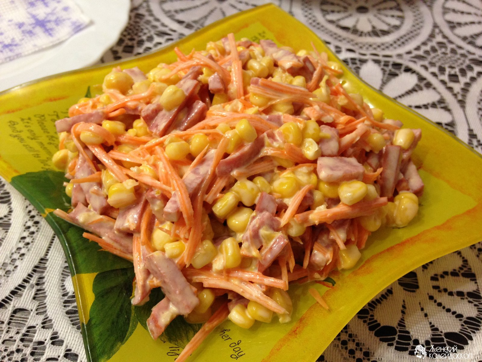 Рецепты салатов на скорую руку в домашних условиях