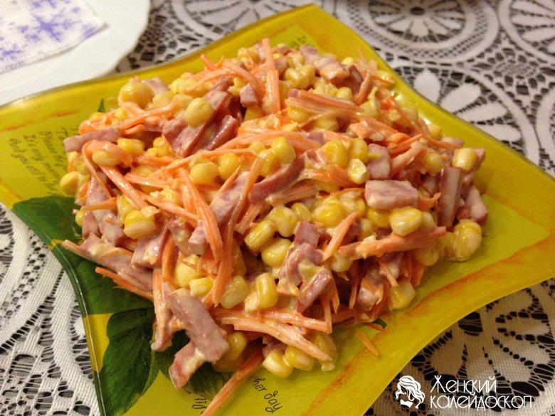 Салат мимоза рецепт без фото