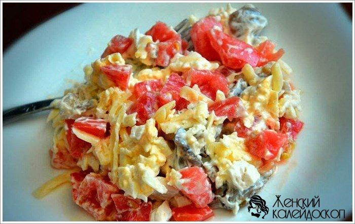 Рецепт салат с копчёностями фото