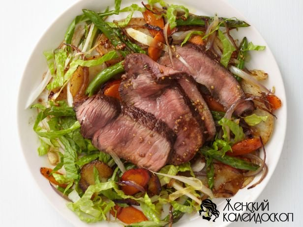 Фото рецепт салата из мяса